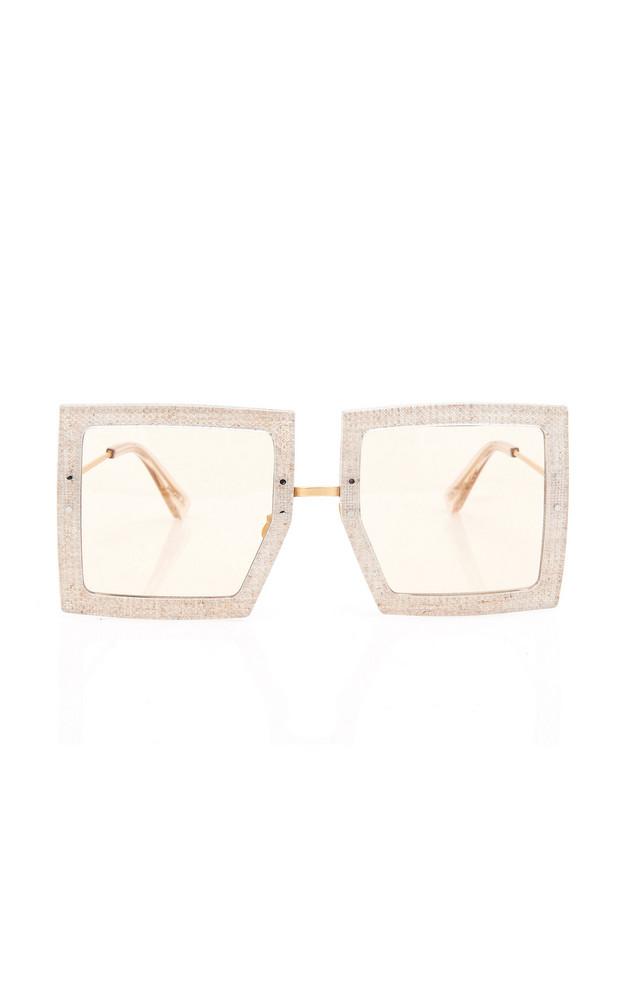 Jacquemus Les Carrees Sunglasses in neutral