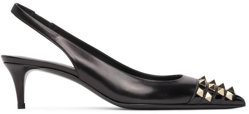 Valentino Garavani Alcove Slingback Heels in black