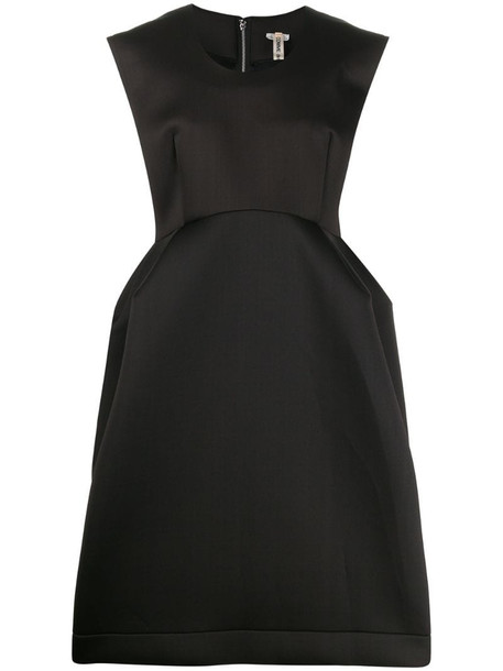 Comme Des Garçons oversized structured dress in black