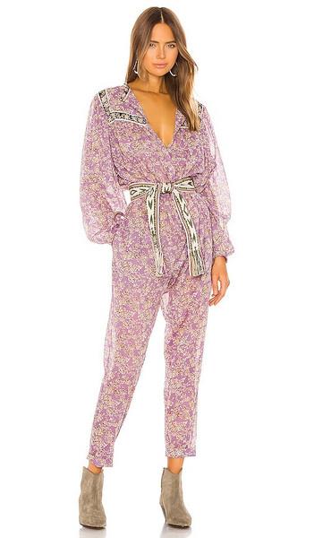 Isabel Marant Etoile Vasco Jumpsuit in Purple in lilac