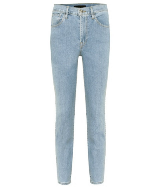 3x1 W3 Authentic cropped straight jeans in blue
