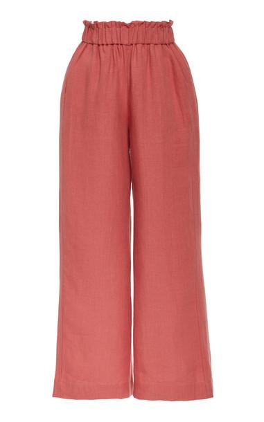 Casa Raki Natalia Trousers Size: S in neutral