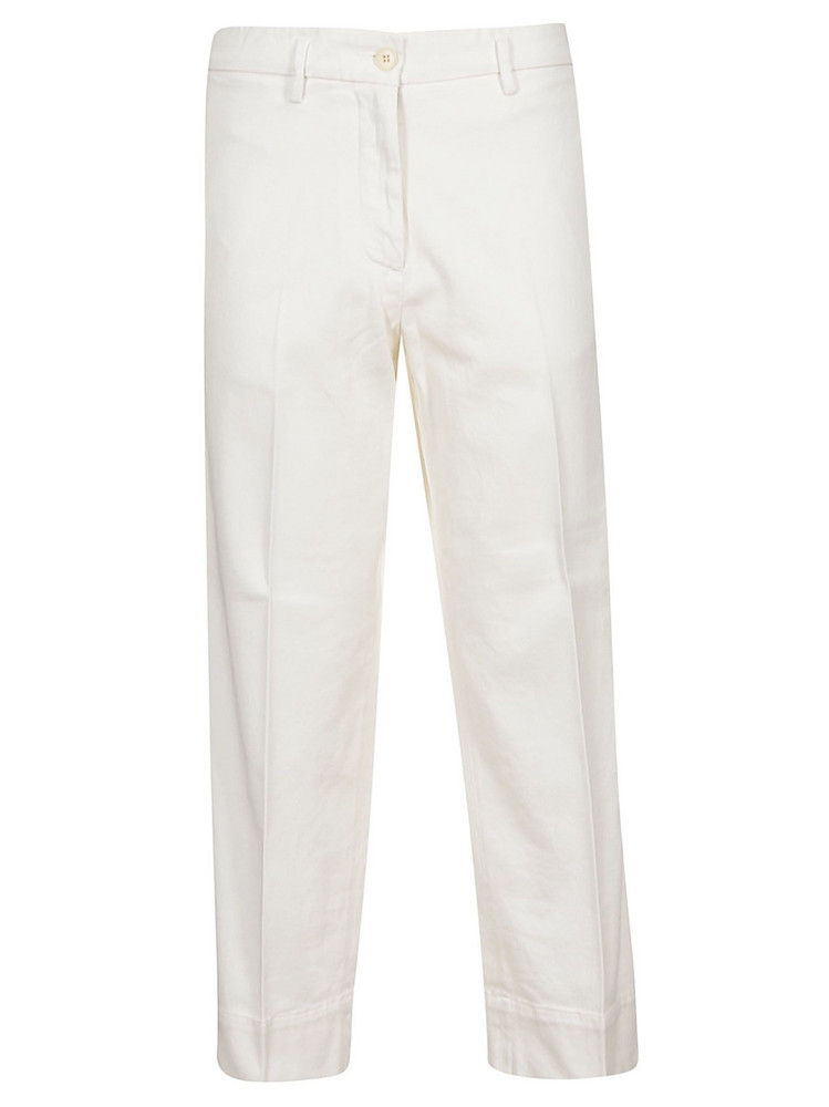 Barena Cropped Trousers in white