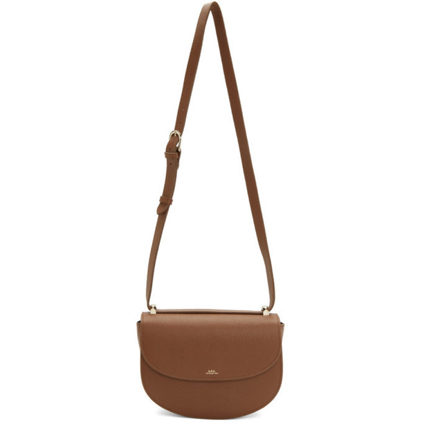 A.P.C. A.P.C. Brown Geneve Bag