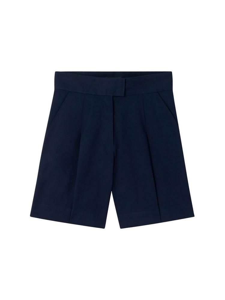 A.P.C. Fluid Cotton Shorts in black