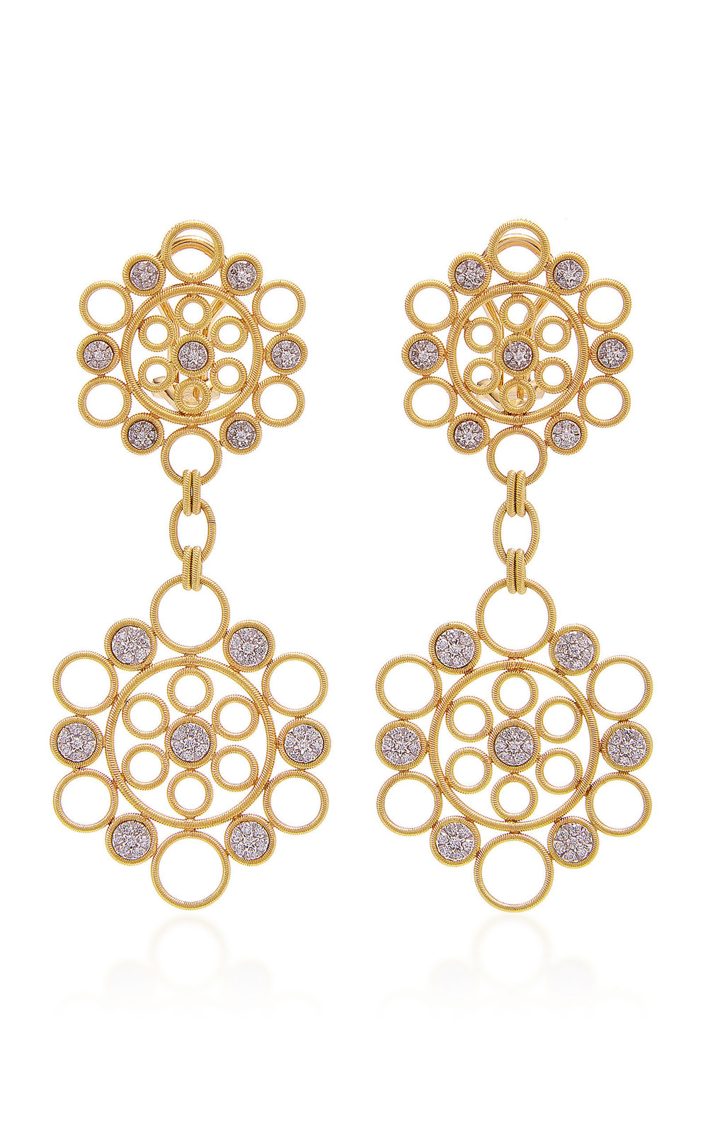 Buccellati Maria Pendant Earrings in gold
