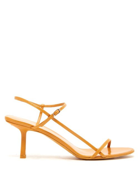The Row - Mid Heel Slingback Sandals - Womens - Tan