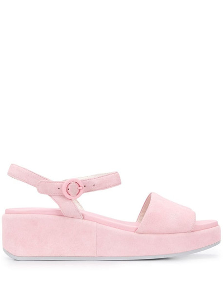 Camper Misia platform sandals in pink