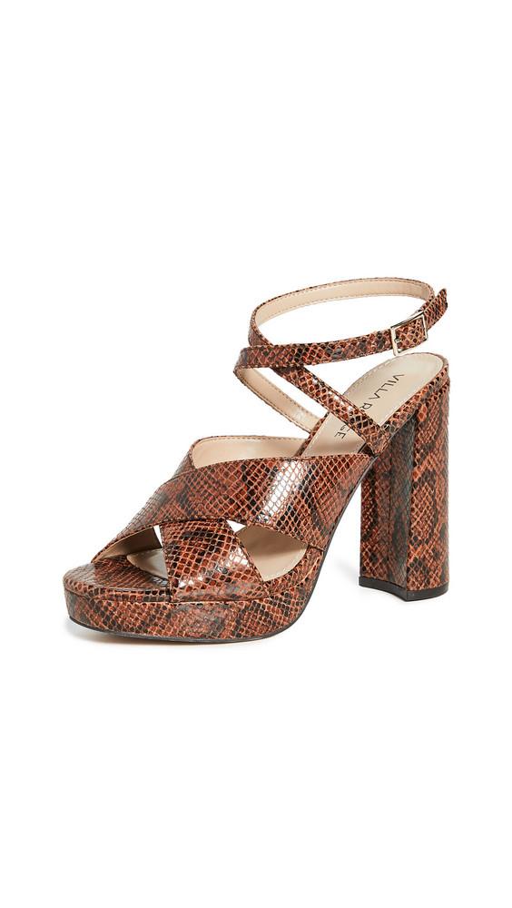 Villa Rouge Geraldine Sandals in brown / multi