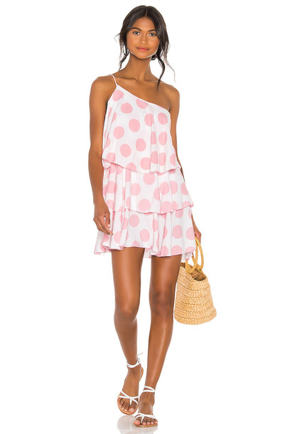 Lovers + Friends Getaway Dress in pink