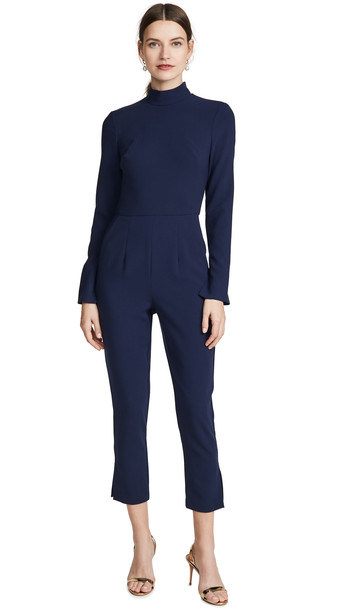 Black Halo Coen Jumpsuit in blue