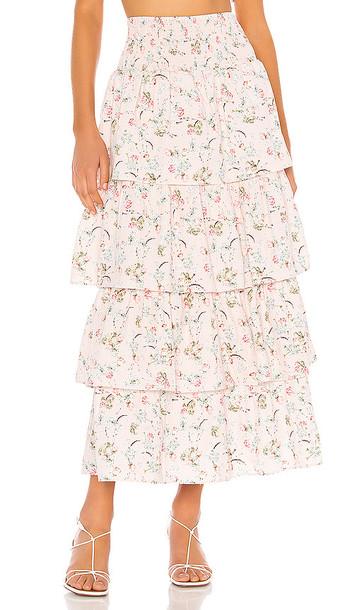 WeWoreWhat Paloma Skirt in Blush