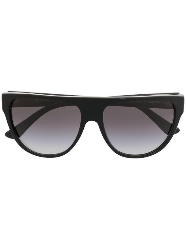 Michael Kors oversized sunglasses in black