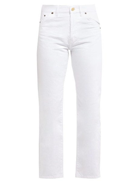 Jacquemus - Le Jean Slim Cotton Jeans - Womens - White