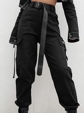 jeans,black jeans,cargo pants,korean style,korean fashion,black
