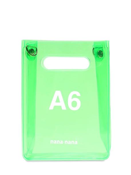 NANA NANA A6 Pvc Shopping Bag in green