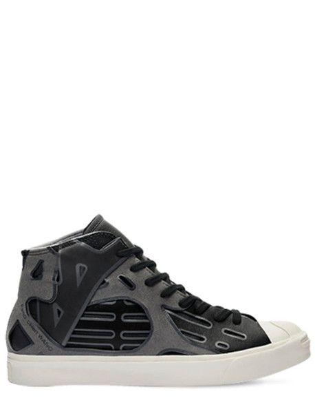 CONVERSE Feng Chen Wang Jack Purcell Mid Sneakers in black
