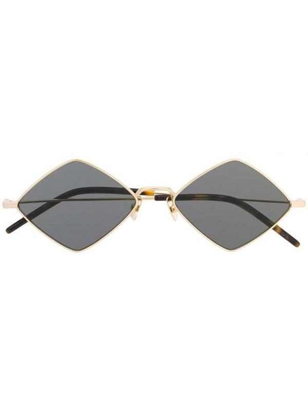 Saint Laurent Eyewear diamond-shape frame sunglasses in black