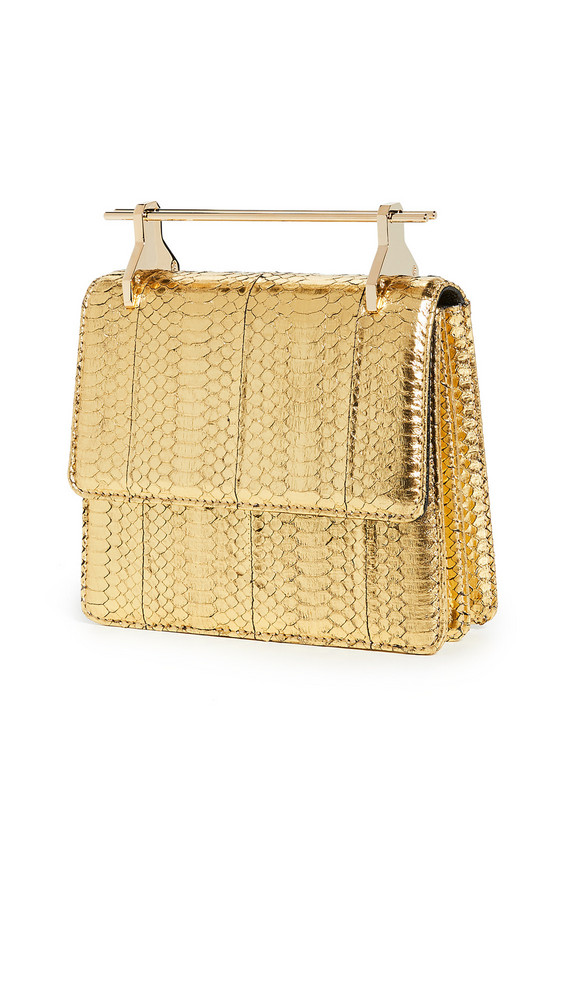M2MALLETIER Mini Collectionneuse Bag in metallic
