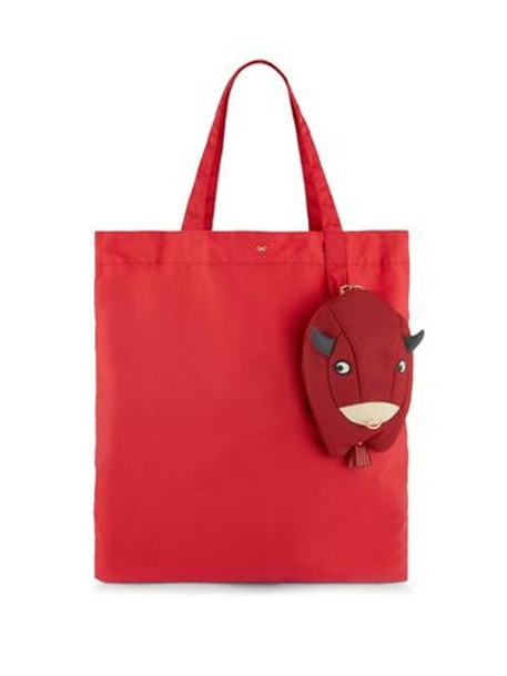Anya Hindmarch - Chinese New Year Ox Tote Bag - Womens - Red