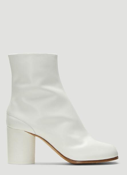Maison Margiela Tabi Ankle Boots in White size EU - 40