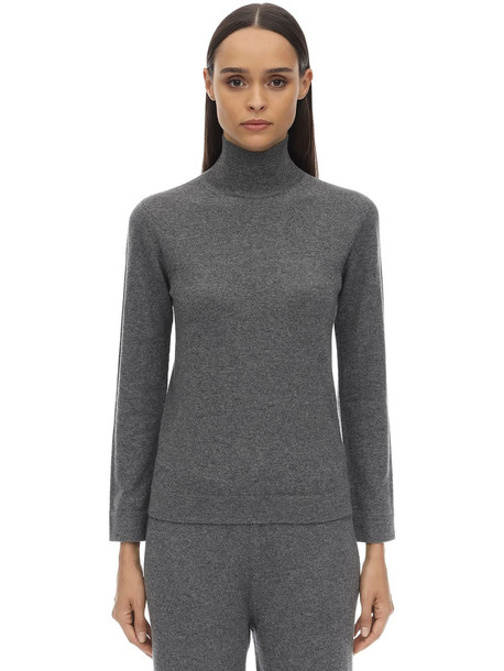 AGNONA Cashmere Knit Sweater in grey
