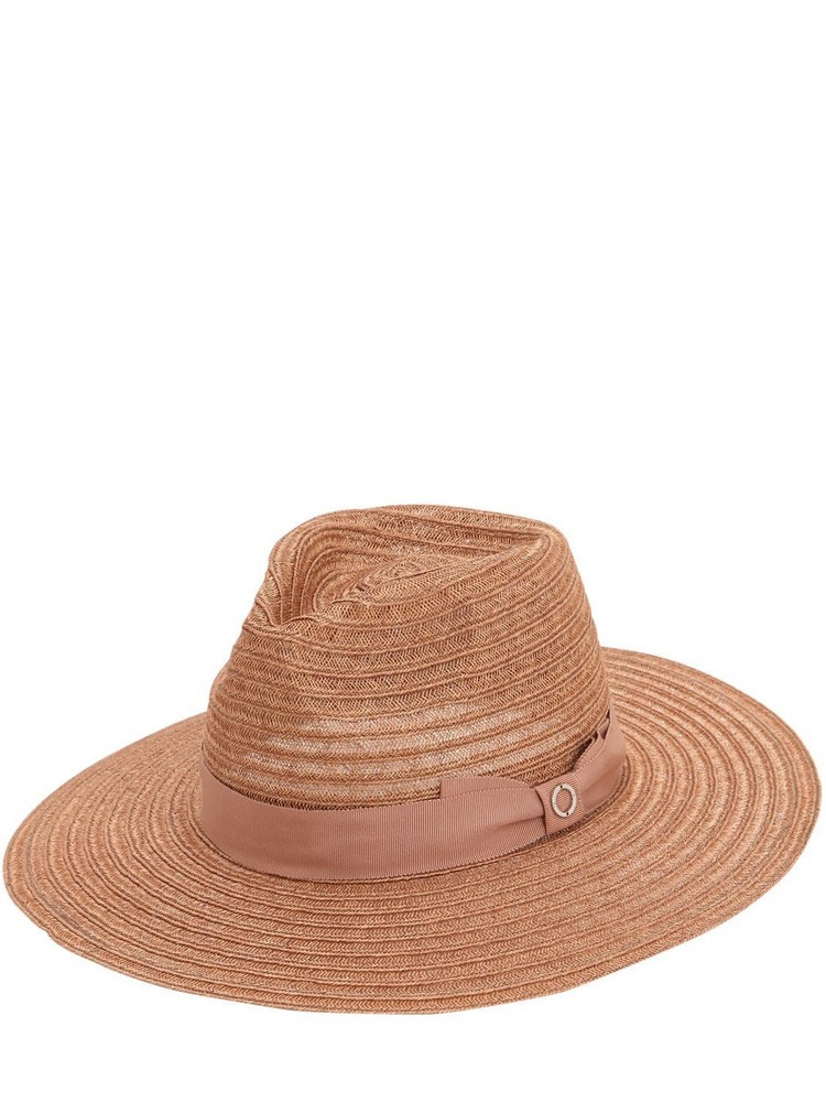 DON Straw Hat W/ Bow in natural