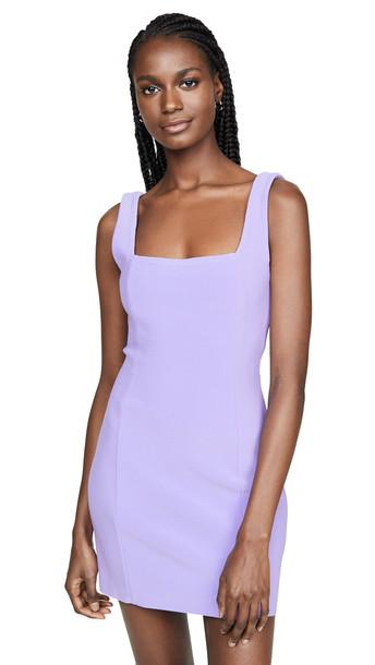 Bec & Bridge Gemma Mini Dress in violet