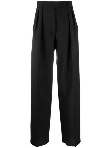 Valentino wide-leg trousers in black
