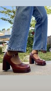 shoes,burgundy,vintage,heels