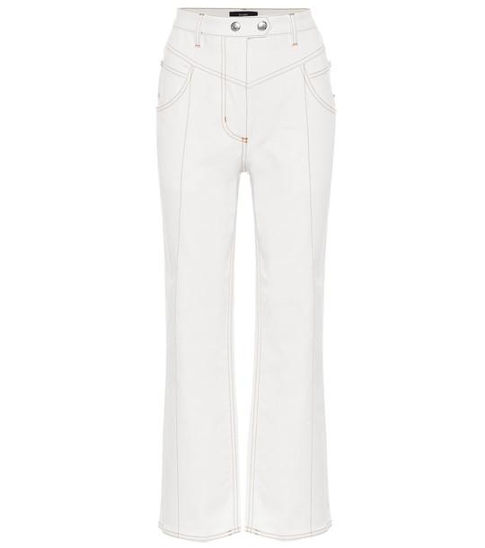 Ellery Captain Corello high-rise jeans in white