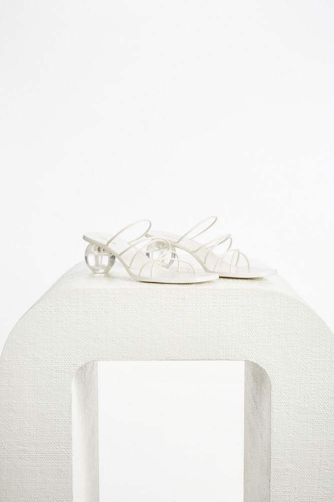 Cult Gaia Cassie Sandal - Off White (PREORDER)                                                                                               $398.00