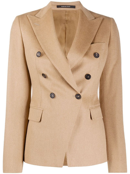 Tagliatore Jalicya double-breasted blazer in neutrals