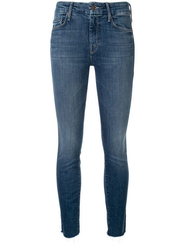 Mother The Looker slim-fit jeans in blue