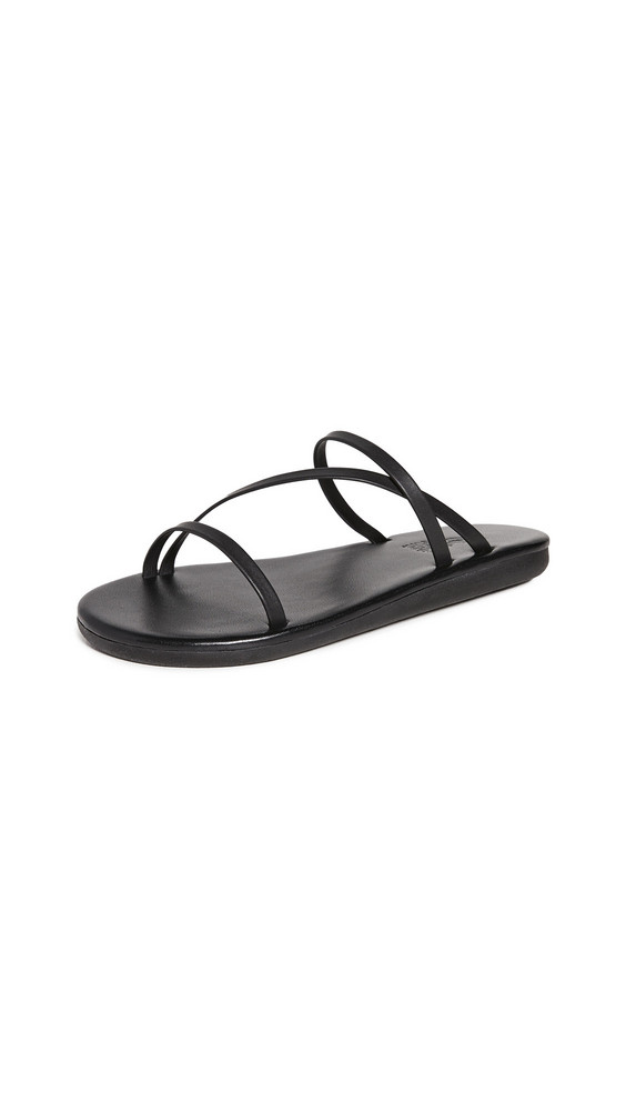 Ancient Greek Sandals Parthena Sandals in black