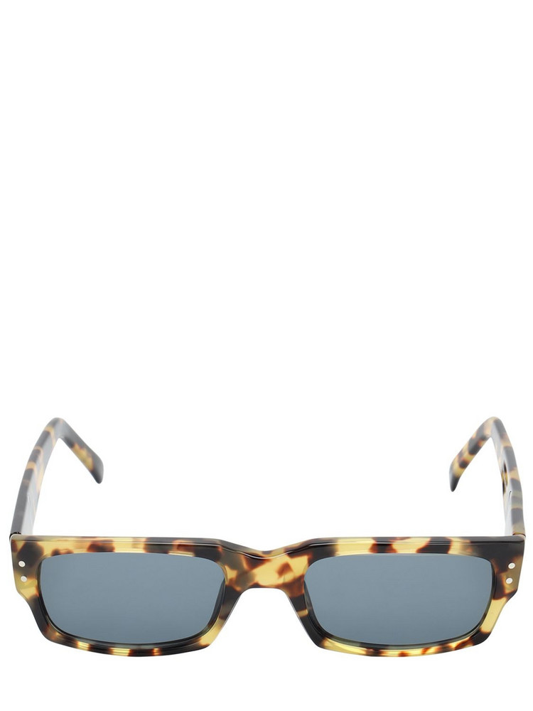 ANDY WOLF Malcom Squared Acetate Sunglasses in blue