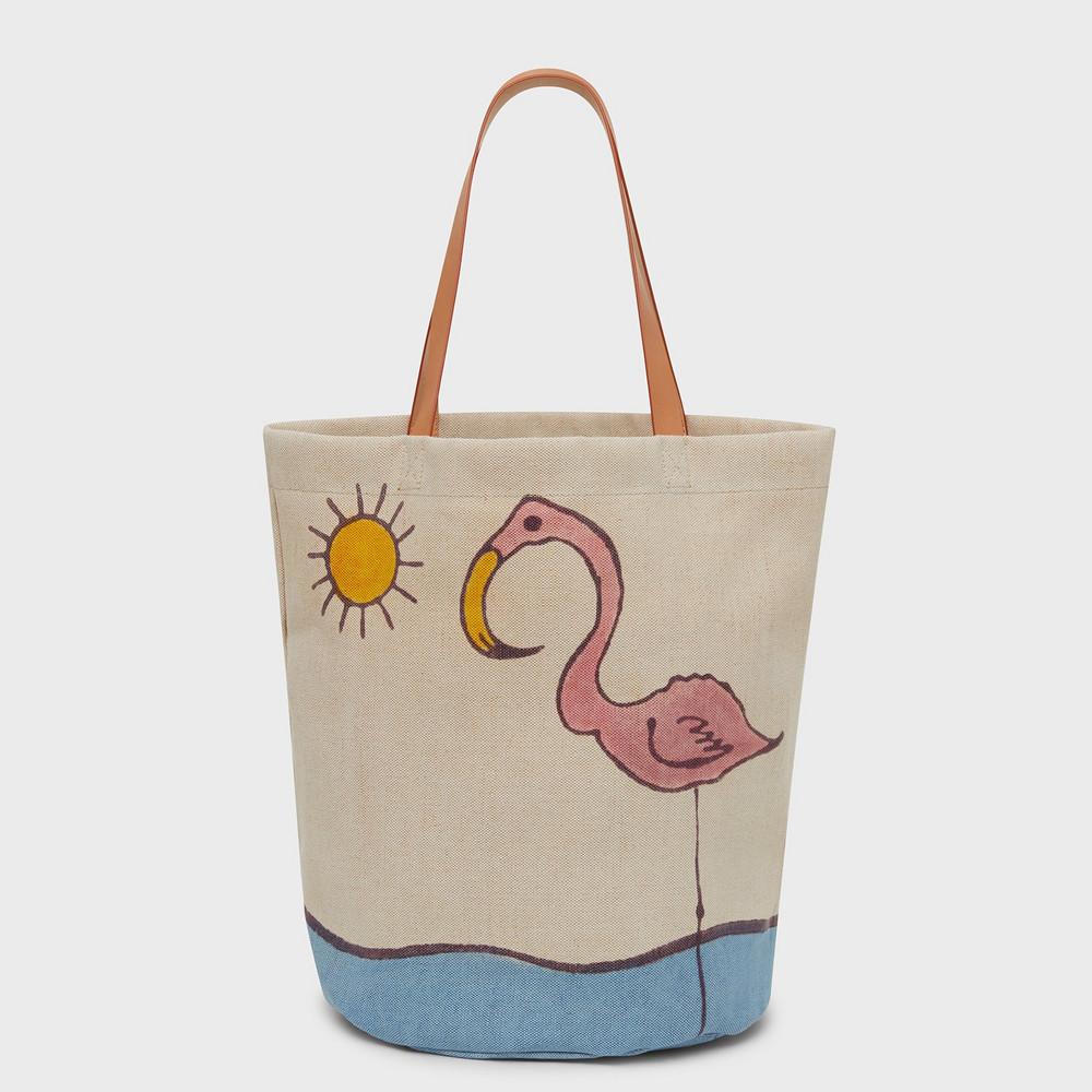 Mansur Gavriel Limited Edition Pascucci Bag - Flamingo Multi