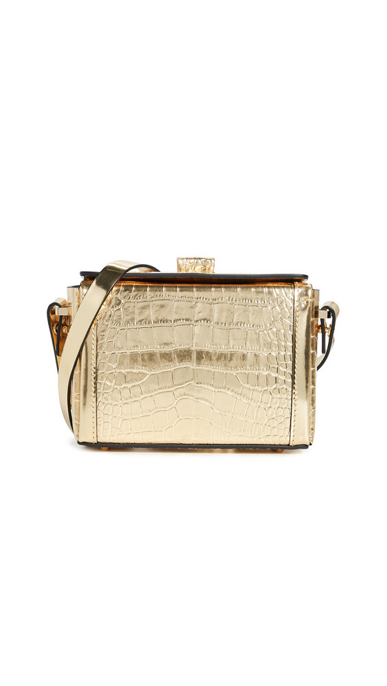 Nico Giani Cerea Mini Box Bag in gold