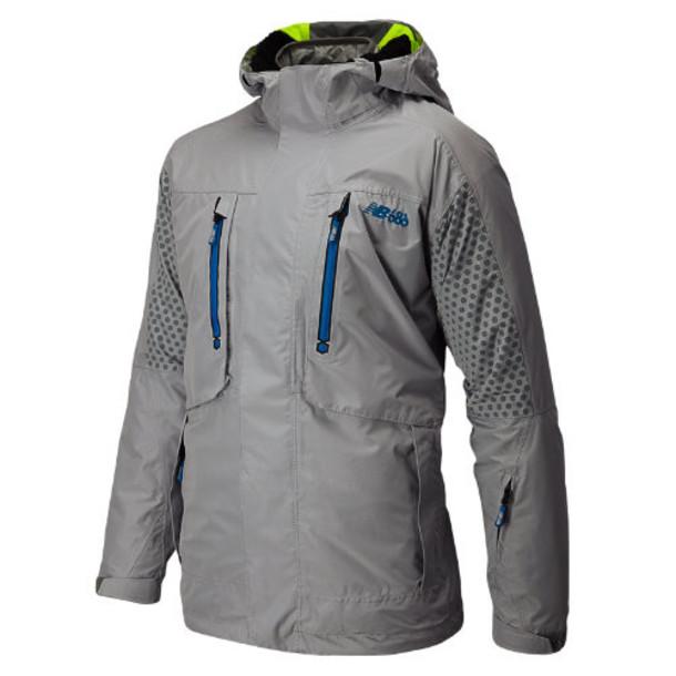 New Balance 4304 Men's Men's Alpine Smarty 3-1 Snow Jacket - Silver Mink (NMOJ4304SVM)
