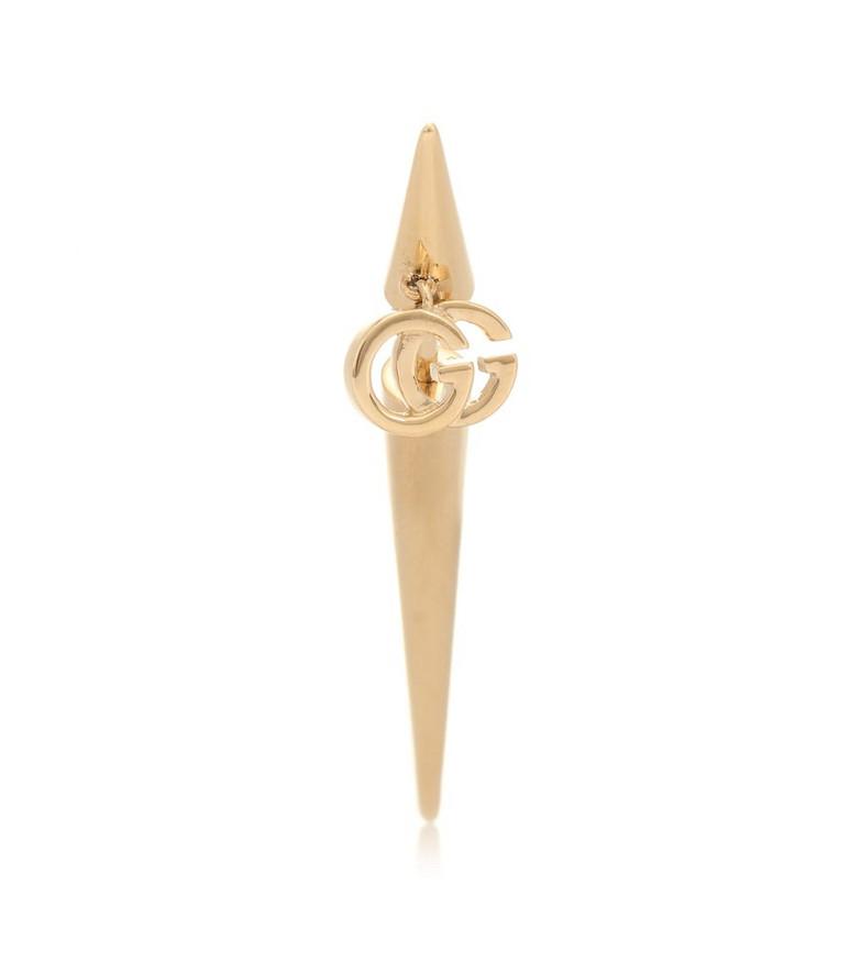 Gucci GG 18kt gold single earring