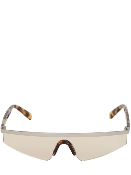 COURREGES The Punk Metal Sunglasses in grey / silver