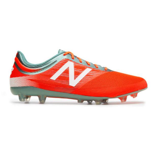 New Balance Furon 2.0 Mid Level FG Men's Soccer Shoes - Orange/Blue (MSFMIFOT)
