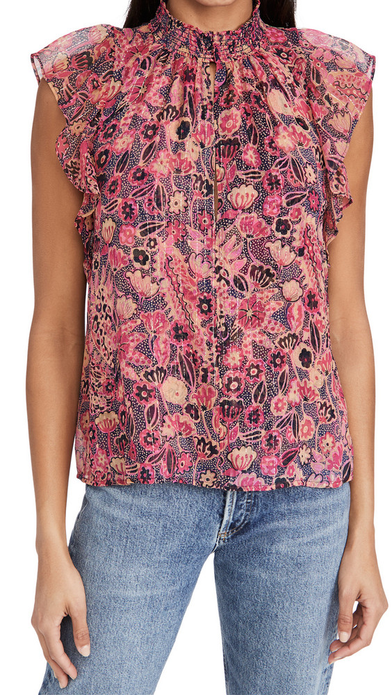 A.L.C. A.L.C. Hayley Top in navy / pink