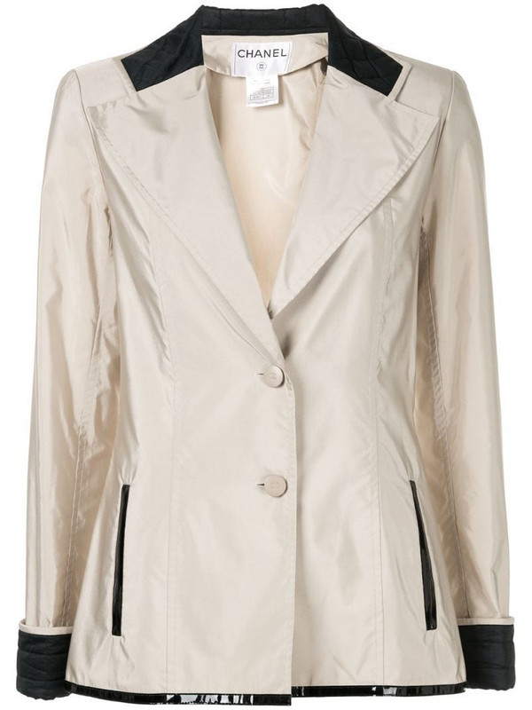 Chanel Pre-Owned long-sleeve jacket in neutrals