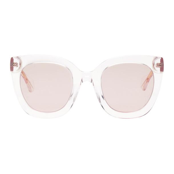Gucci Pink Square Sunglasses