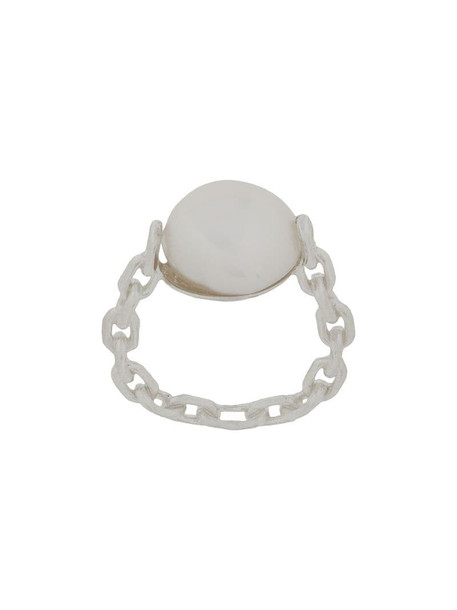 Wouters & Hendrix pearl-embellished ring in silver