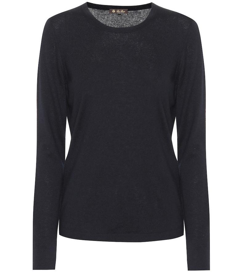 Loro Piana Cashmere shirt in black