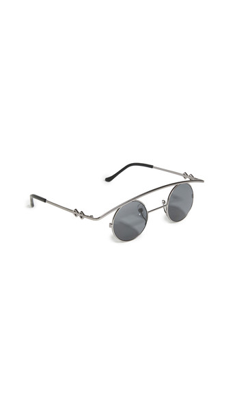 Karen Wazen Retro's Sunglasses in black