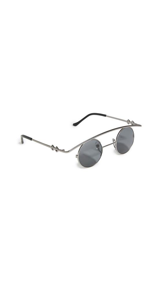 Karen Wazen Retro's Sunglasses in black
