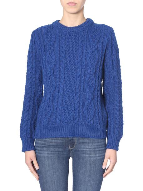 Saint Laurent Braided Sweater